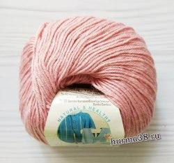 Пряжа Ализе Бейби Вул (Alize Baby Wool) 161 пудра