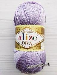 Пряжа Ализе Дива (Alize Diva) 158 лаванда