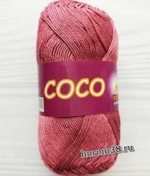 Пряжа Вита Коко (Vita Coco) 4326 дымчато-розовый