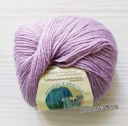Пряжа Ализе Бейби Вул (Alize Baby Wool) 146 лиловый