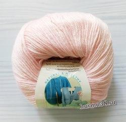 Пряжа Ализе Бейби Вул (Alize Baby Wool) 184 светло-розовый