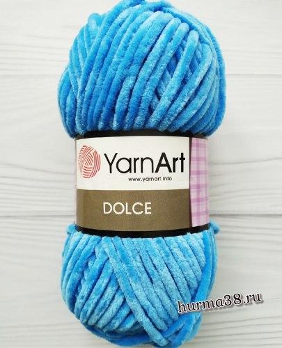Пряжа Ярнарт Дольче (YarnArt Dolce) 777 голубой