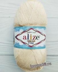 Пряжа Ализе Коттон Голд Файн (Alize Cotton Gold Fine) 382 светлая пудра