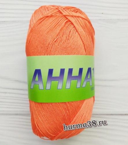Пряжа Сеам Анна 16 (Seam Anna 16) 310 кораллово-оранжевый
