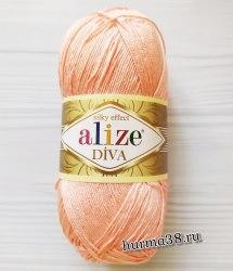 Пряжа Ализе Дива (Alize Diva) 145 светлая пудра
