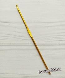 Крючок для вязания алюминиевый №3