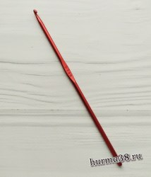Крючок для вязания алюминиевый №3,5