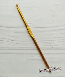 Крючок для вязания алюминиевый №4,5