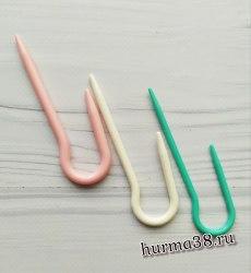 Спицы вспомогательные для вязания кос 3 шт. (петля)