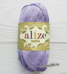 Пряжа Ализе Белла (Alize Bella) 158 лаванда