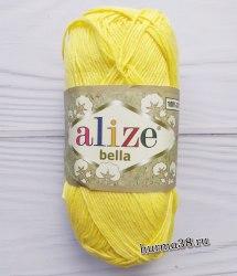 Пряжа Ализе Белла (Alize Bella) 110 лимонный