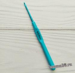 Крючок для вязания с пластиковой ручкой STAR (алюминий) №2,5