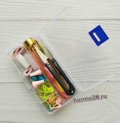 Набор для вязания в пластиковом боксе