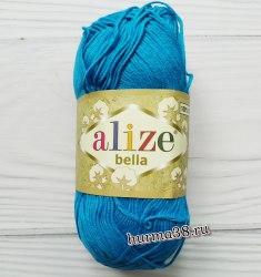 Пряжа Ализе Белла (Alize Bella) 376 бирюза