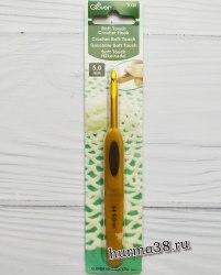 Крючок для вязания Кловер Софт Тач (Clover Soft Touch) №5