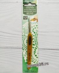 Крючок для вязания Кловер Софт Тач (Clover Soft Touch) №0,75