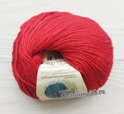 Пряжа Ализе Бейби Вул (Alize Baby Wool) 106 тёмно-красный