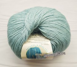 Пряжа Ализе Бейби Вул (Alize Baby Wool) 114 лазурный