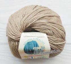 Пряжа Ализе Бейби Вул (Alize Baby Wool) 167 бежевый