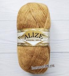 Пряжа Ализе Ангора Голд (Alize Angora Gold) 127 карамель