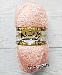 Пряжа Ализе Ангора Голд (Alize Angora Gold) 363 светло-розовый