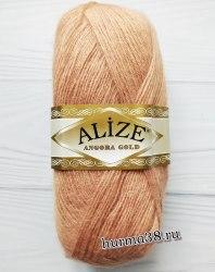 Пряжа Ализе Ангора Голд (Alize Angora Gold) 102 луковый