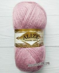 Пряжа Ализе Ангора Голд (Alize Angora Gold) 295 розовый