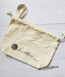 """Проектная сумочка для вязания """"Knitter"""" 22х11х23см"""