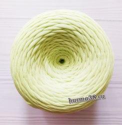 Трикотажная пряжа цвет зелёно-жёлтый