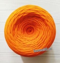Трикотажная пряжа цвет оранжевый