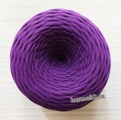 Трикотажная пряжа цвет фиолетовый