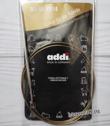 Спицы круговые супергладкие Адди (Addi) №3,5 100см