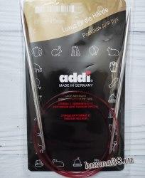 Спицы круговые с удлинённым кончиком Адди (Addi) №4 80см