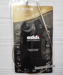 Спицы круговые супергладкие Адди (Addi) №4 40см