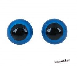 Глазки для игрушек на безопасном креплении цвет голубой 2 см. 2 шт. арт. 1553390