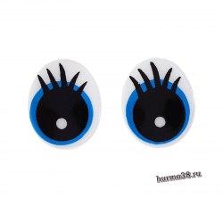 Глазки для игрушек на безопасном креплении 2 шт. 1,85×1,5 см. арт. 1553422