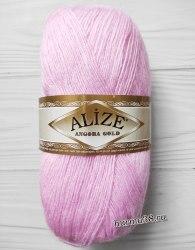 Пряжа Ализе Ангора Голд (Alize Angora Gold) 185 светло-розовый