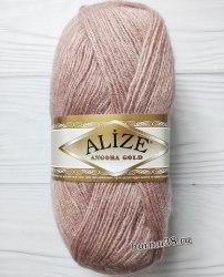 Пряжа Ализе Ангора Голд (Alize Angora Gold) 452 пепельная роза