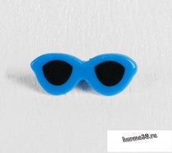 Очки для игрушек на безопасном креплении 3,8 × 1,5 см. арт. 3783477