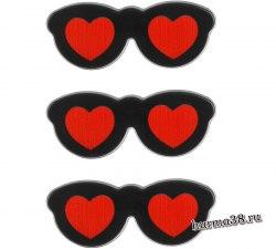 Очки для игрушек на безопасном креплении 3,8 × 1,5 см. арт. 3783480