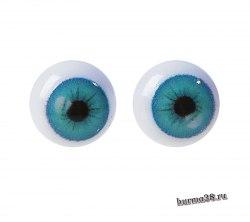 Глазки для игрушек на безопасном креплении 2 шт. 0.8 см. арт.4380005
