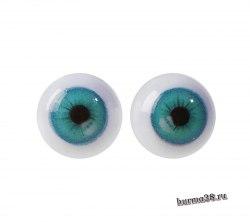 Глазки для игрушек на безопасном креплении 2 шт. 1 см. арт.4380006