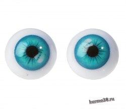 Глазки для игрушек на безопасном креплении 2 шт. 1.6 см. арт.4380009