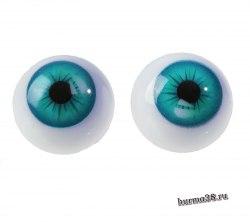 Глазки для игрушек на безопасном креплении 2 шт. 1.8 см. арт.4380010
