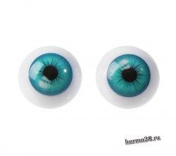 Глазки для игрушек на безопасном креплении 2 шт. 2 см. арт.4380011