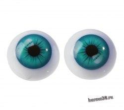 Глазки для игрушек на безопасном креплении 2 шт. 2.2 см. арт.4380012