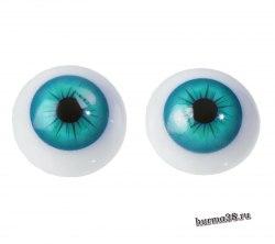 Глазки для игрушек на безопасном креплении 2 шт. 2.4 см. арт.4380013