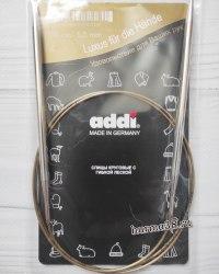Спицы круговые супергладкие Адди (Addi) №5 100см