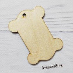 Катушка для намотки ниток Б деревянная