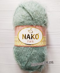 Пряжа Нако Париж (Nako Paris) 4229 серо-голубой